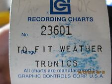 Graphic Controls Recording Charts 23601 Nib (Wl21)