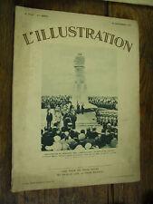 L'illustration n° 4726 / 30 septembre 1933