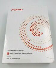 FYPO Two Modes Cleaner 2C Deep Cleaning & Massage Brush Facial Cleansing Brush