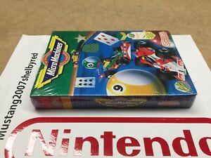Camerica Micro Machines Nes Nintendo New Factory Sealed NOS VGA WATA ??