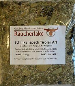Schinkenspeck Tiroler Art Pökelmischung, Pökeln Räuchern Trockenpökeln Gewürz