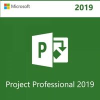 MS Project Professional 2019 License Key Code for 1 PC Download Link instantly