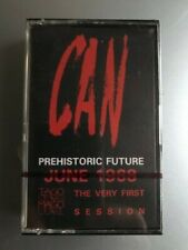 """Can """"Prehistoric Future"""" France 1984  Cassette Album, Limited Ed. SEALED!"""