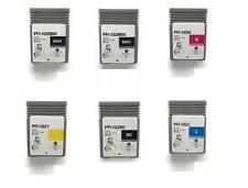 6 Compatible Canon ipf 500 510 600 605 700 710 720 PFI-102 INK cartridges 102