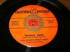 BOB SCOBEY'S FRISCO BAND - TRAVELIN SHOES - C.C.RIDER   / LISTEN - RNB  JAZZ