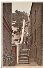 FALMOUTH -  JACOB'S LADDER  B&W  POSTCARD (1912)