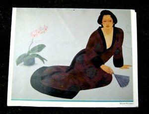 1992 Pegge Hopper Hawaii Calendar - 13 Color Prints