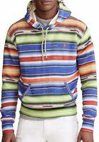 $368 NWT POLO RALPH LAUREN Men's L FALL 2020 Serape LTD ED Heavy Polo Sweatshirt