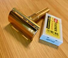 Vintage 1947-1950 GILLETTE TECH three piece double edge DE safety razor common