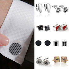 Men's Rhinestone Crystals T-Shirt Cufflinks Mini Suit Sleeve Accessories Fashion