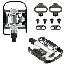 Repacked Wellgo Multi-Function Mountain Bike Pedals Shimano SPD Compatible Black