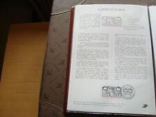 FRANCE - document poste 1er jour 12/9/1981 (costes et le brix) french