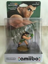 Amiibo Nintendo Super Smash Bros LITTLE MAC #16 figure toy VERY RARE