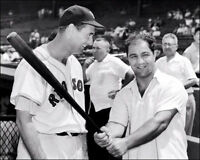 Ted Williams Rocky Marciano Photo 8X10 - Red Sox 1955  Buy Any 2 Get 1 FREE