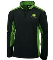 John Deere - 365 Plain Two-Tone Fleece Pullover with Zip