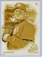 Roger Clemens 2019 Allen and Ginter 5x7 Gold #66 /10 Blue Jays