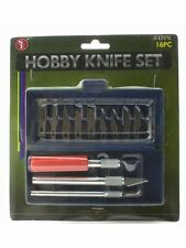Precision Hobby Knife Set 16 Pieces With Case
