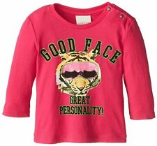 Diesel Baby Newborn Long Sleeve Top Good Face Great Personality