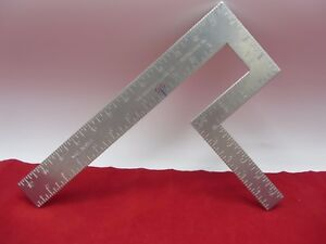 THE ORIGINAL MODIFIED SQUARE TOOL USA MADE CARPENTERS PIPE FITTERS MACHINIST NEW