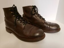 Chippewa Engineer Cap Toe Ankle Boots Men's Size 11.5 M Made in USA