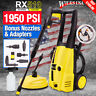 Electric Pressure Washer 1950PSI/1800w Power Jet Cleaner RX510 ~Karcher Adapter~