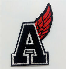 Letter A Embroidery Iron on patch clothing sewn applique backpack Hat  Motif New