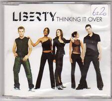 (EO238) Liberty, Thinking It Over - 2001 DJ CD