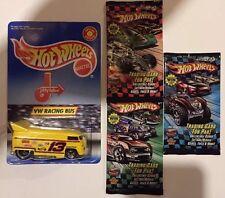 Hotwheels Vw Drag Bus Jiffy Lube Limited Edition + Rare Hotwheels Cards