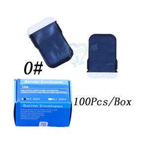 Dental Barrier Envelopes for X ray Film 0# 2# X-ray Film Bags 100pcs/500pcs