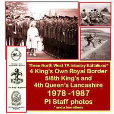 North West TA Infantry Battalions 1978- 1987- DVD