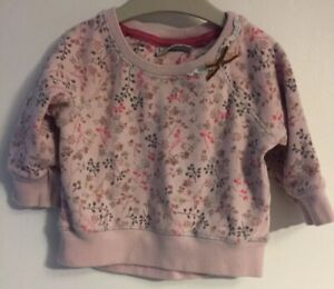 Girls Age 3-6 Months - Next Long Sleeved Top