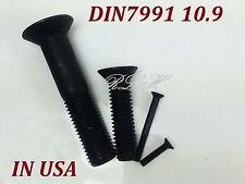 DIN7991 M24x40 BLACK ALLOY CLASS 10.9 HEX SOCKET COUNTERSUNK HEAD SCREWS QTY 1