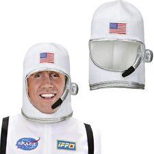 ASTRONAUTEN-HELM Raumfahrer Helm Weltraum USA Raumfahrerhelm Nasa Kostüm #1116