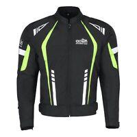 Mens Motorbike Cordura Jacket Motorcycle Waterproof CE Armours Textile Bike Top