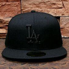 2017 New Black LA Baseball Cap Snapback Hat Swag Hiphop Fashion Mens Dodgers