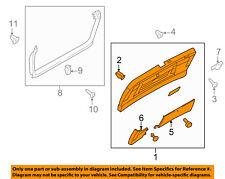 AUDI OEM 09-12 A4 Quattro Liftgate Tailgate Hatch-Lower Trim Panel 8K98679791CT
