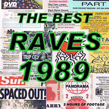 ACID HOUSE      RAVE     DVD   THE BEST RAVES  DVD  1989