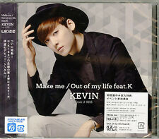 KEVIN (FROM U-KISS)-MAKE ME / OUT OF MY LIFE FEAT.K-JAPAN CD  B63