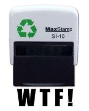 WTF !  Self Inking Stamp - 36 x 13mm - Handy Pocket Stamp