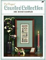 ABC Band Sampler 2 Counted Cross Stitch Patterns Projects