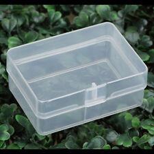 5x plastique transparent boîte de rangement caisse de collecte partie EA