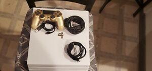 Sony PlayStation 4 Pro 1TB Console - Glacier White + Controller + GTA V