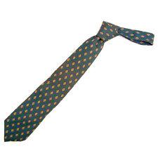 CHANEL necktie diamond pattern Men Authentic Used T205