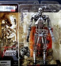 (NEW) 2002  T-800 Endoskeleton - McFarlane Movie Maniacs  (T2 Terminator)