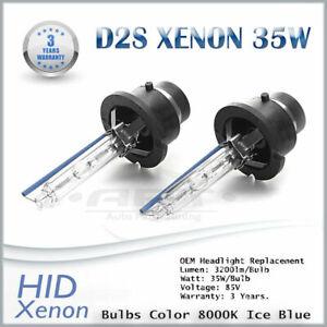 Range Rover Sport L320 2005-2009 D2S Xenon Hid 35W Bulbs Ice Blue 8000K Low Beam