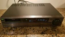 Sony EV-S550 Video8 8mm Video Cassette Player / Recorder Editing VCR PCM Stereo