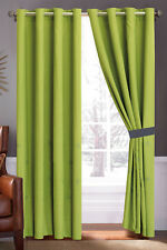 4-Pc Octogram Star Snowflake Fern Leaf Embroidery Curtain Set Green Gray Drape