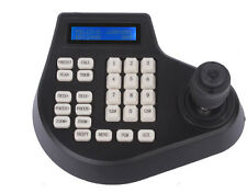 4D CCTV joystick Keyboard Controller LCD for ptz Speed Dome Camera US SHIP!