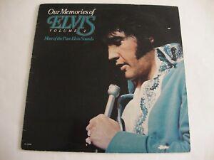 Elvis Presley LP Our Memories Of Elvis Volume 2 (Blue Label) (RCA PL13448, UK)