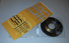 Single CD  UB40 - (I Can't Help) Falling In Love With You  1993  3.Tracks  94